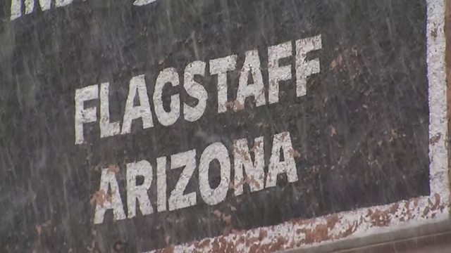 However, this hasn't been the case for most of the winter season with a lack of snow but people around Flagstaff are pretty positive about the season. (Source: 3TV/CBS 5)