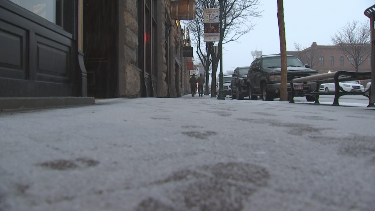 Tourism has been slow with the little snowfall this season. (Source: 3TV/CBS 5)
