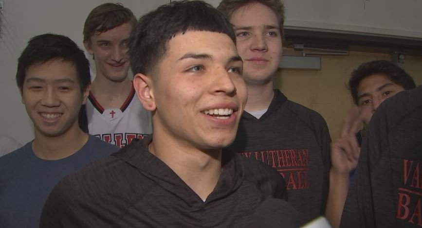 Valley Lutheran senior Romeo Valenzuela will spend his Valentine's Day preparing for a run at the state championship. (Source: 3TV/CBS 5)