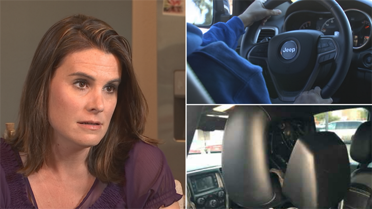 Heather Anderson got her check from Jeep for repairs for her broken headrest. (Source: 3TV)