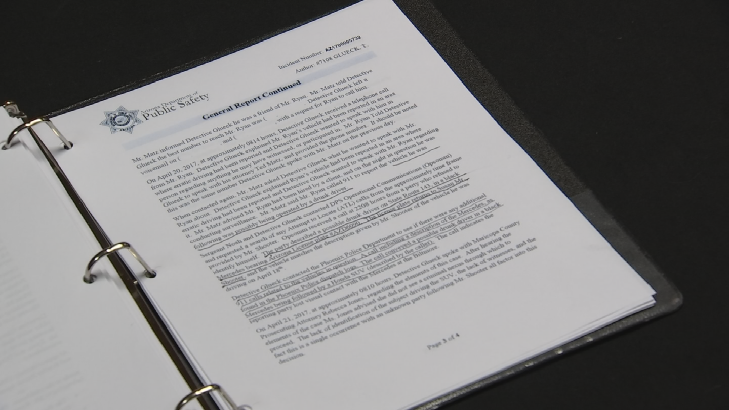 The allegations were part of a black binder the Yuma lawmaker had. (Source: 3TV/CBS 5)