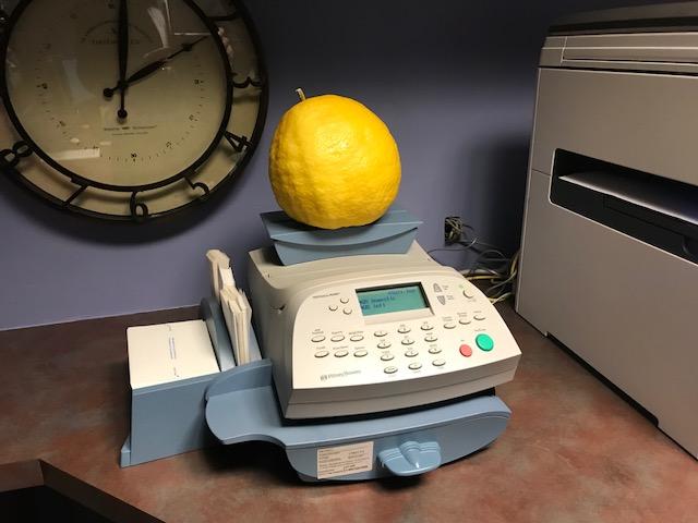 This lemon is pretty big. (Source: Paul Horton)