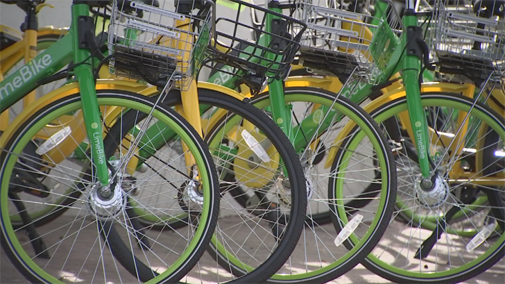 Many of the bicycles with bike share companies make their way from Scottsdale to Phoenix. (Source: 3TV/CBS 5)