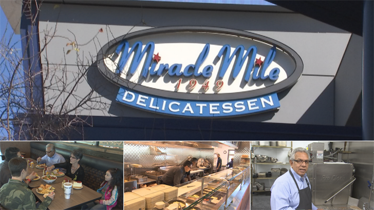 Hundreds of customers come through Miracle Mile Deli in Phoenix every day. While many come for lunch, some have left with much more. (Source: 3TV/CBS 5)