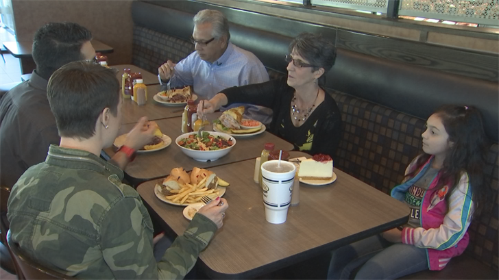 Josh has done more than just follow in his parent's footsteps running Miracle Mile Deli. He too met his wife Desi at the restaurant. (Source: 3TV/CBS 5)