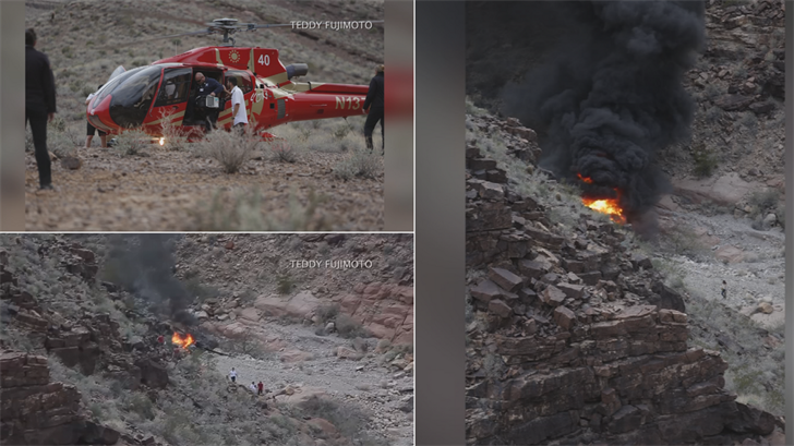 'Well-loved' couple injured in Grand Canyon helicopter crash