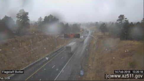 Road conditions in Flagstaff (Source: ADOT)
