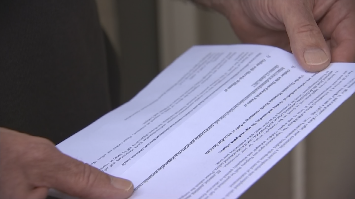 Clay Porter thought his house in north Phoenixlooked pretty gooduntil he got a letter from his HOA. (Source: 3TV/CBS 5)