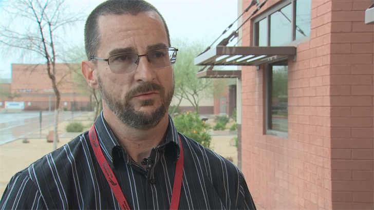 James Dorer, security director for Scottsdale Unified School District. (Source: 3TV/CBS 5)