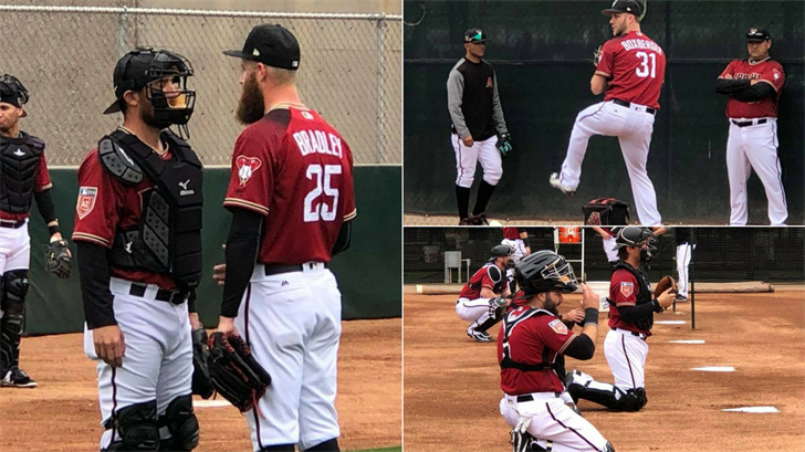 Arizona Diamondbacks pitchers and catchers reported for Cactus League spring training workouts at Salt River Fields in Scottsdale. (Source: 3TV/CBS 5)
