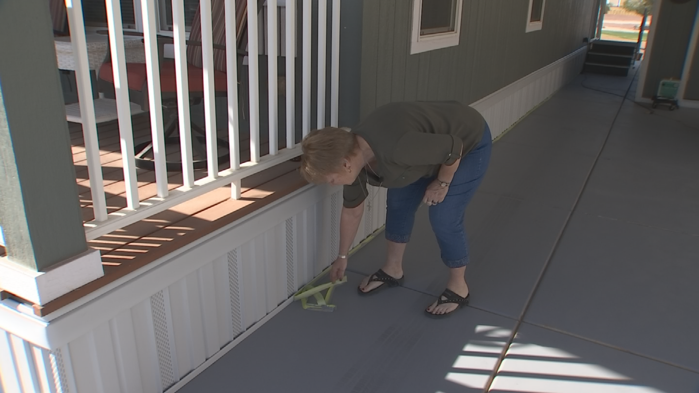 Colleen Libby wanted to improve the looks of her aging driveway. So, she said it was kind of ironic that a guy claiming to run an epoxy business showed up and said he could make her driveway look brand new for $2,500. (Source: 3TV/CBS 5)