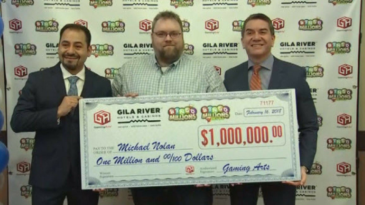 Bingo winner Mike Nolan (Source: 3TV/ CBS 5)