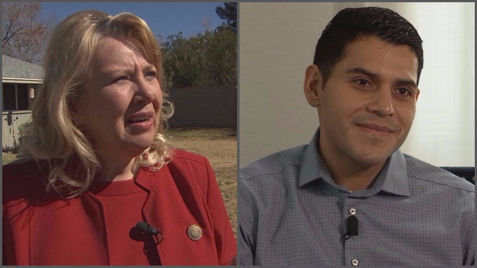 Debbie Lesko and Steve Montenegro (Source: 3TV/CBS 5)