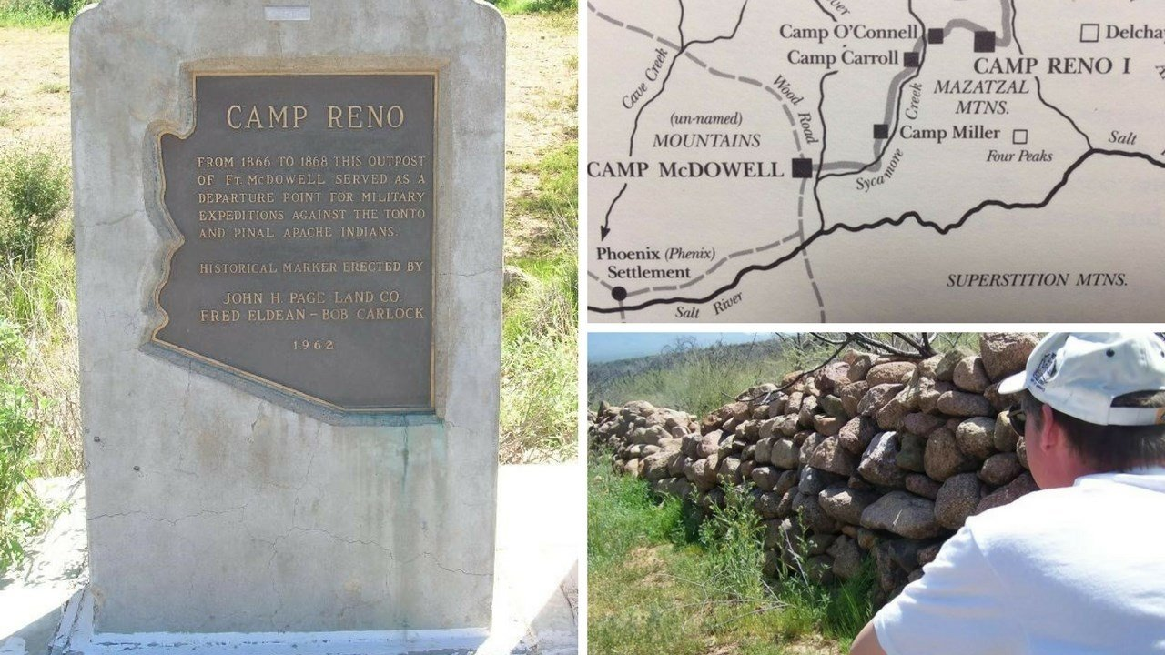 The remains of Camp Reno are located in the Tonto Basin. 14 October 2014 (Source: Eric Zotcavage)
