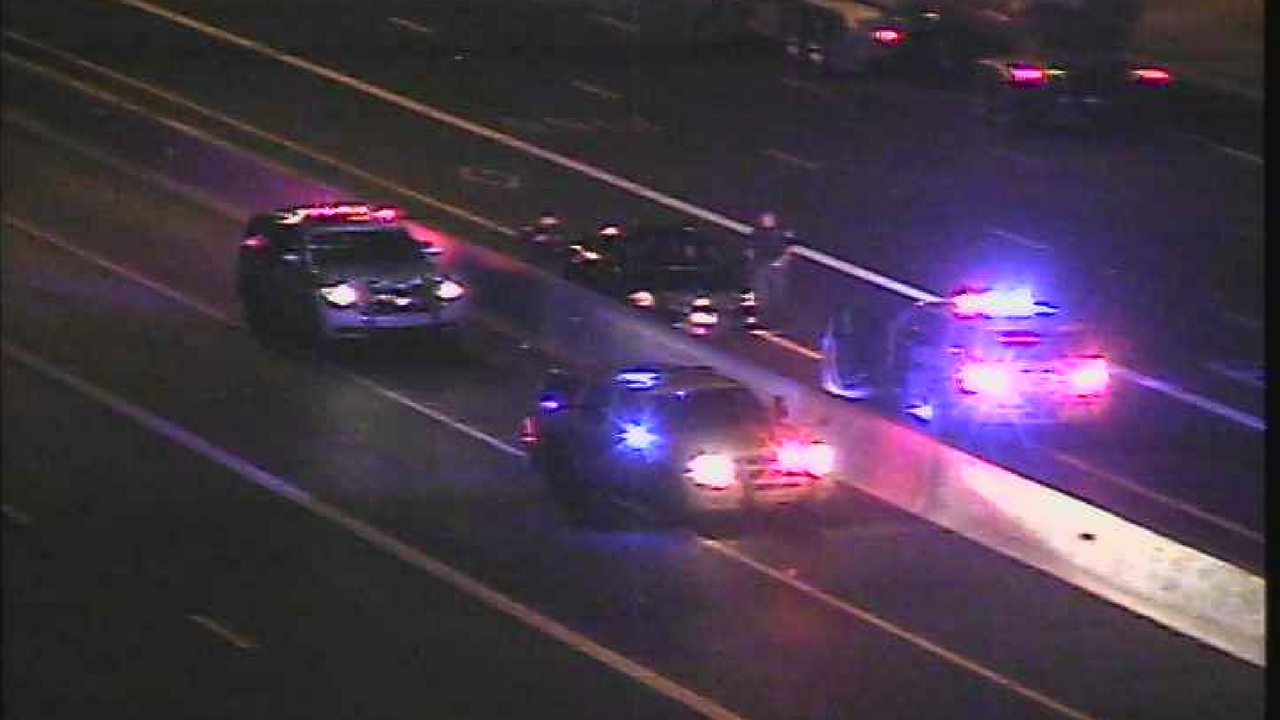DPS troopers stopped the wrong-way driver on the Loop 101 and Ray Road. (Source: Arizona Department of Transportation)