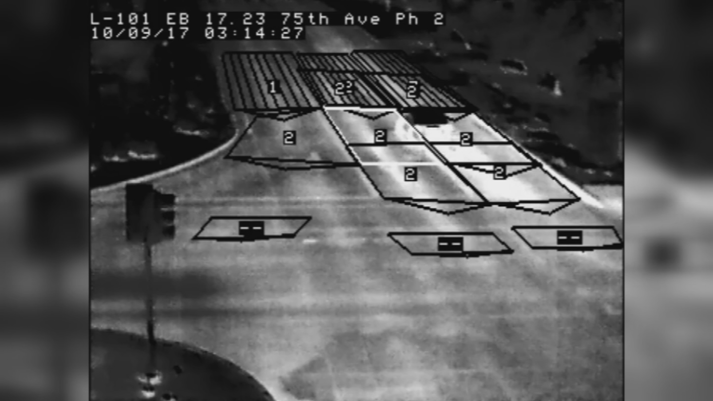 The state dropped 3.7 million dollars for a wrong-way detection system, installing thermal cameras that are placed at off-ramps along the Interstate 17 between the Loop 101 and Interstate 10. (Source: 3TV/CBS 5)