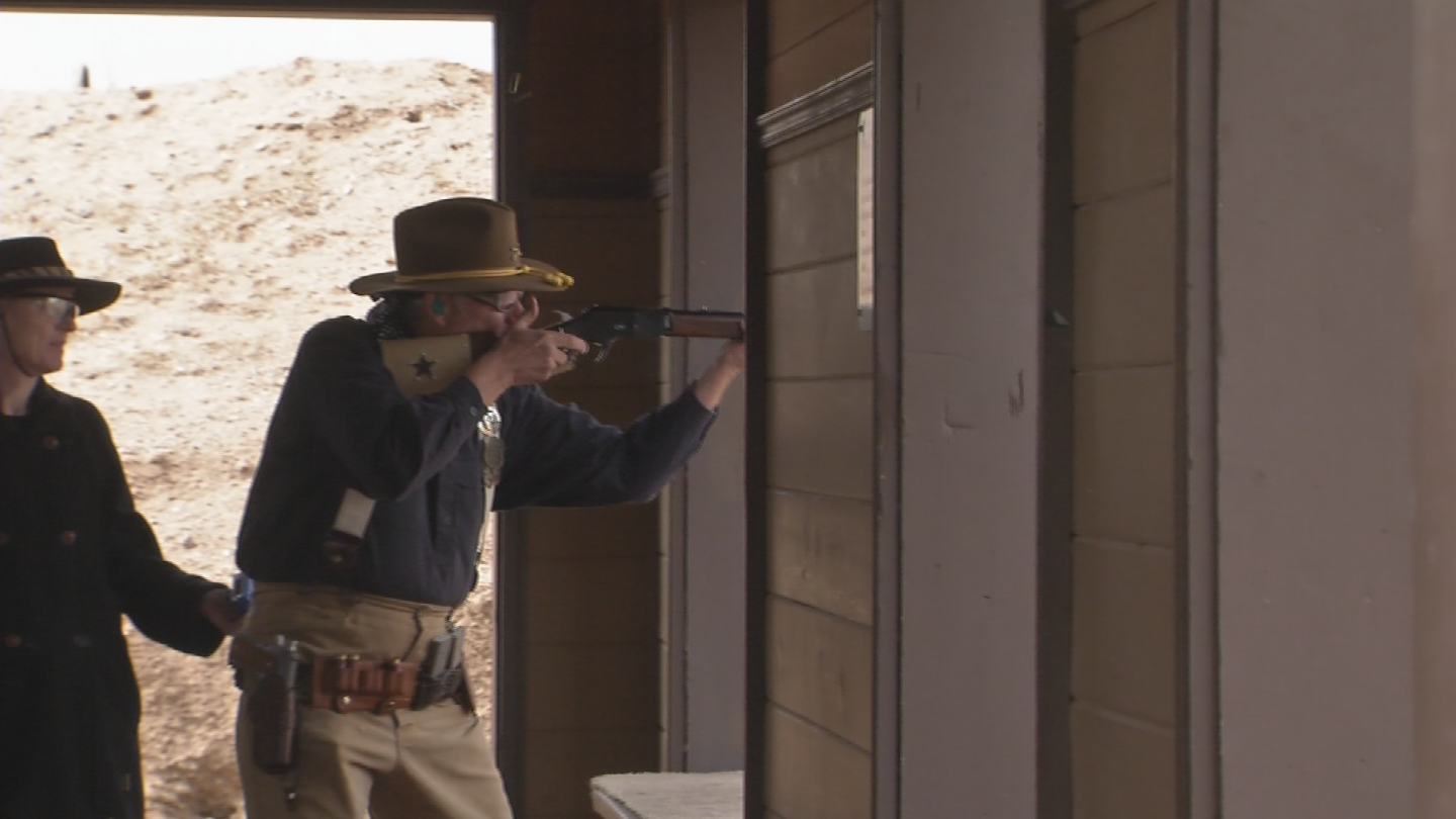 More than 1,000 cowboy action shooting participants from around the world put their marksmanship skills to the test. (Source: 3TV/CBS 5)