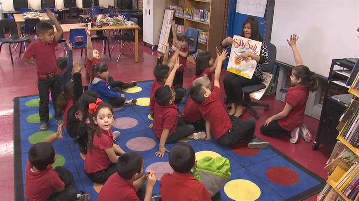 Mrs. Veronica Soria has been the librarian there for 14 years. (Source: 3TV/CBS 5)