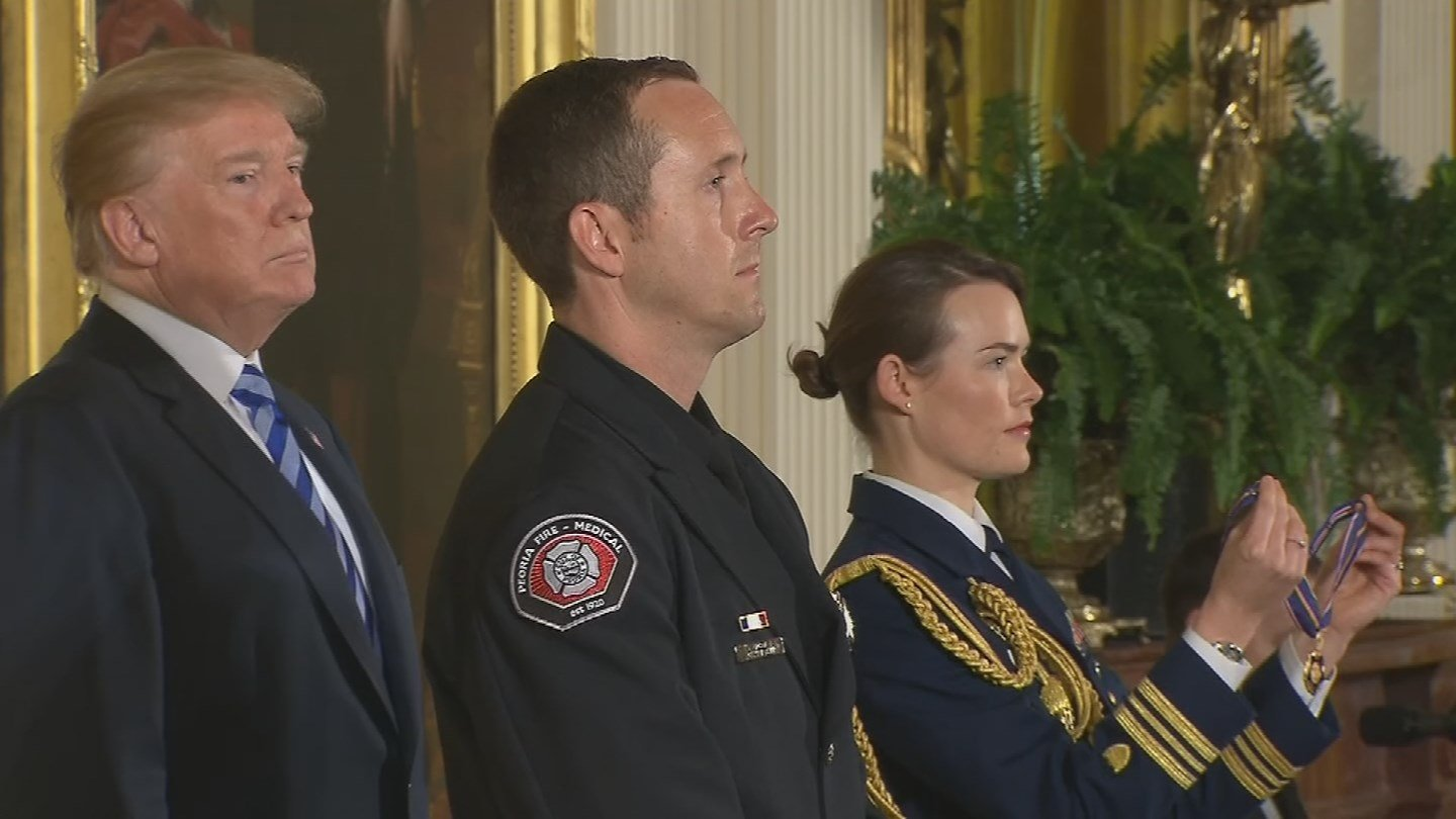 It is the highest award a first responder can earn. (Source: 3TV/CBS 5)