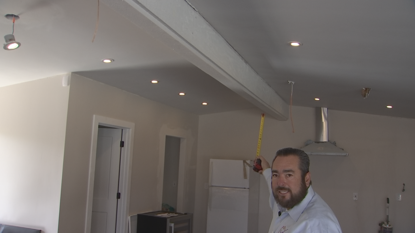 A licensed contractor said Castaldi removed a weight bearing wall that supports the roof. (Source: 3TV)
