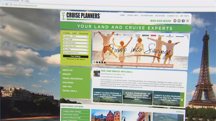 Sue Mitchell said travel agents have seen a resurgence in business. (Source: 3TV/CBS 5)