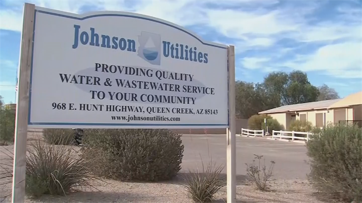Johnson Utilities is the only water company that serves that part of Pinal County. (Source: 3TV/CBS 5)