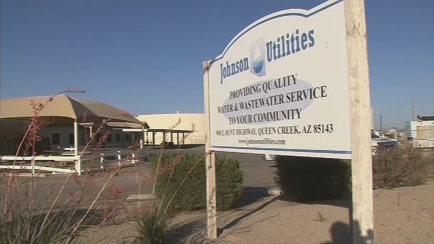Johnson Utilities has asked the ACC to allow the company to raise water rates by 23 percent for water and 17 percent for wastewater. (Source: 3TV/CBS 5)