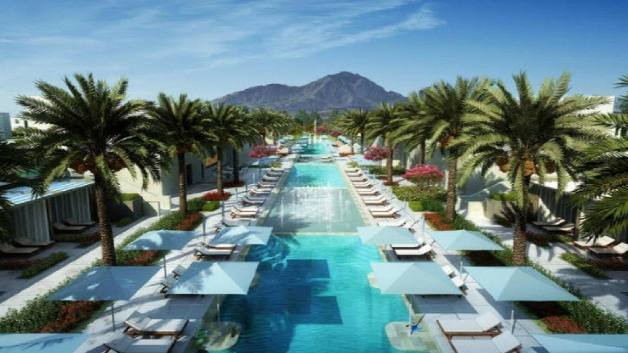 Rendering of new Ritz Carlton in Paradise Valley
