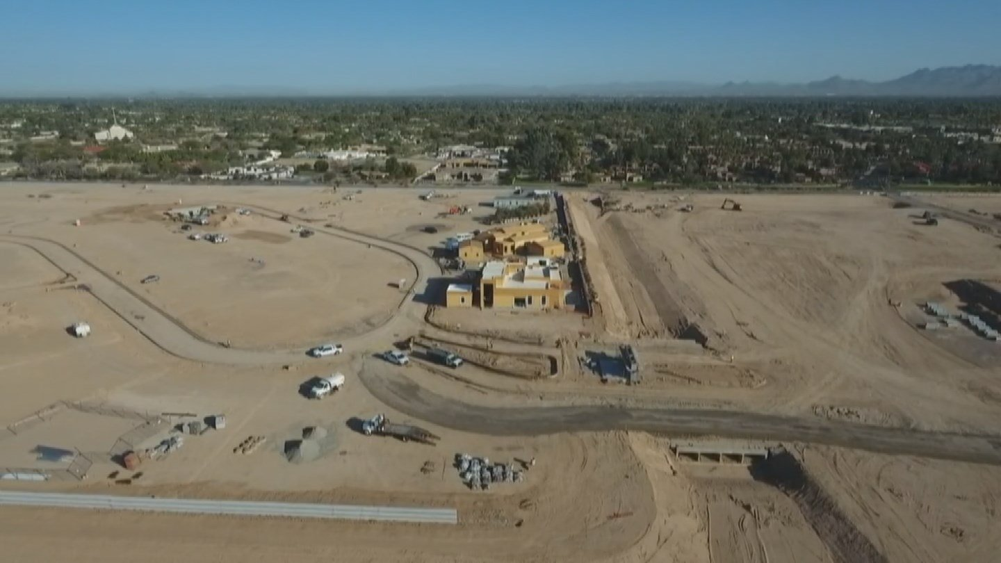 Site of new Ritz Carlton in Paradise Valley (Source: 3TV/CBS 5)
