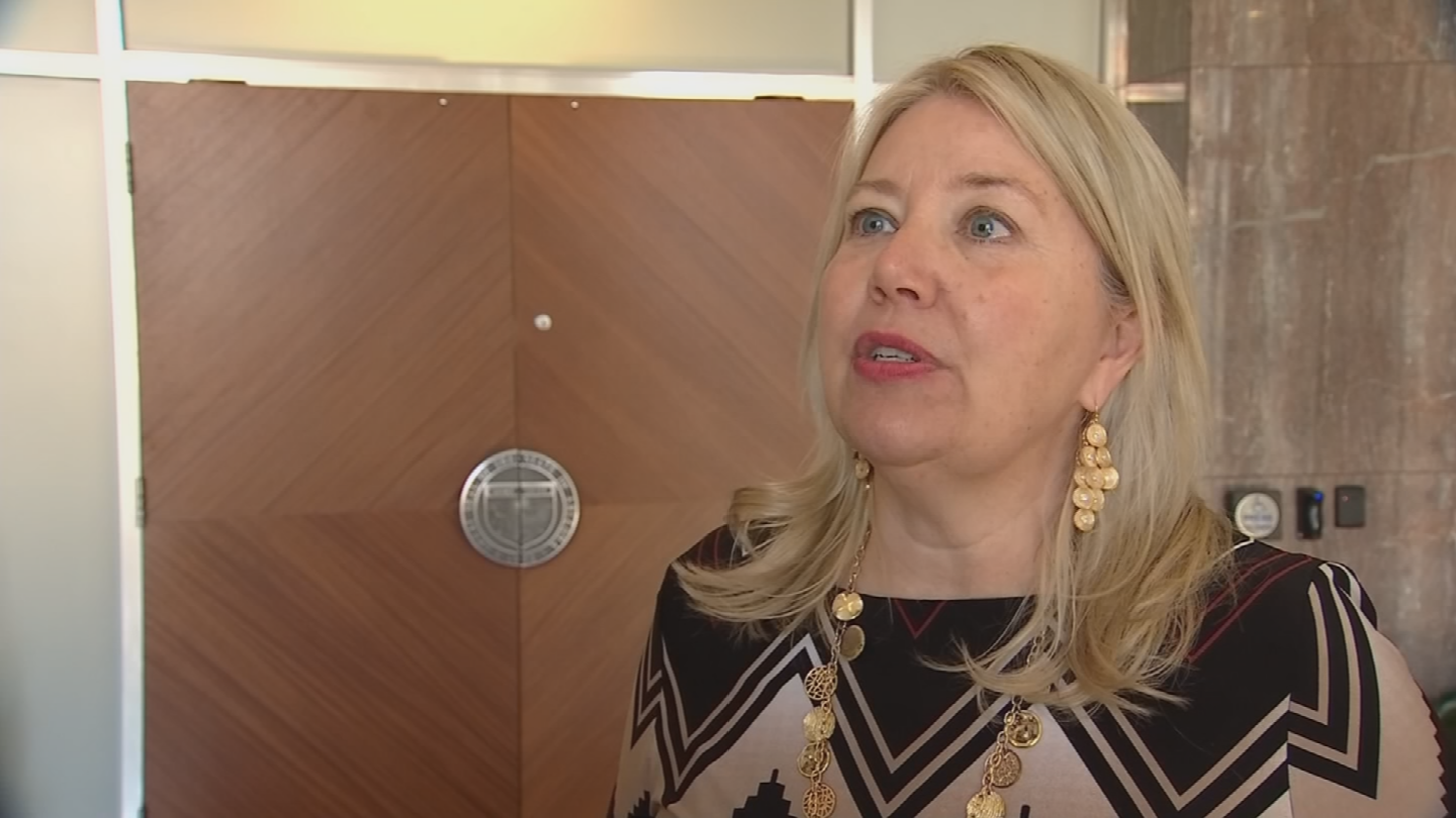 Former state Sen. Debbie Lesko is under fire for transferring $50,000 from her old state campaign fund to an independent group backing her congressional election bid. (Source: 3TV/CBS 5)