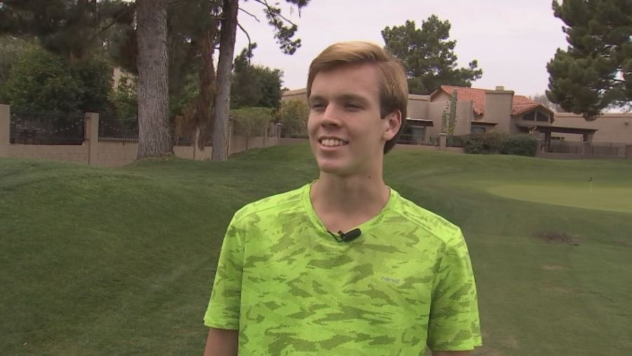 Cody Carter has qualified for the World Baton Twirling Championships next month in Norway. (Source: 3TV/CBS 5)
