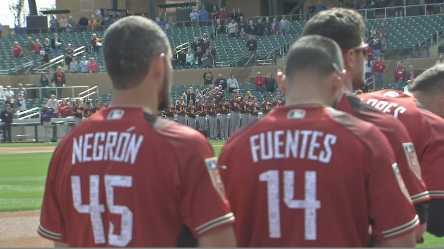 The D-backs opened the spring against Arizona State. (Source: 3TV/CBS 5)