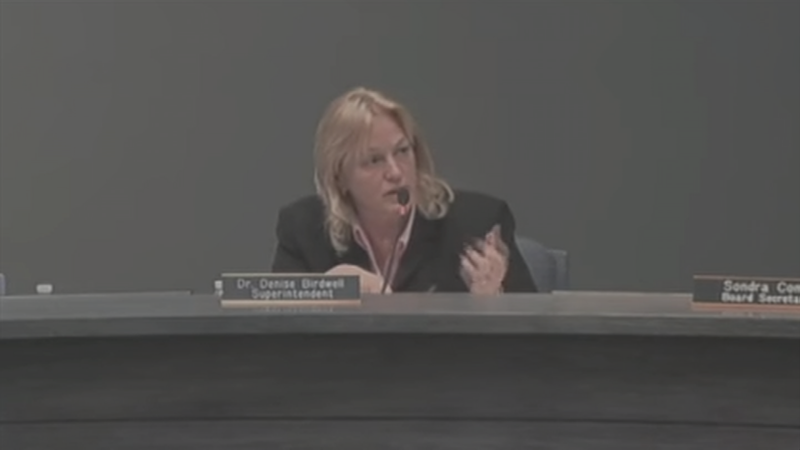 Scottsdale Unified superintendent Denise Birdwell was put on temporary administrative leave. (Source: 3TV/CBS 5)