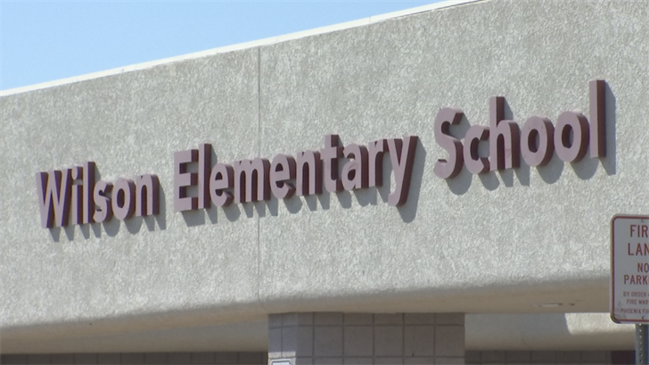 Wilson Elementary School is fundraising to help pay for its school resource officer. (Source: 3TV/CBS 5)