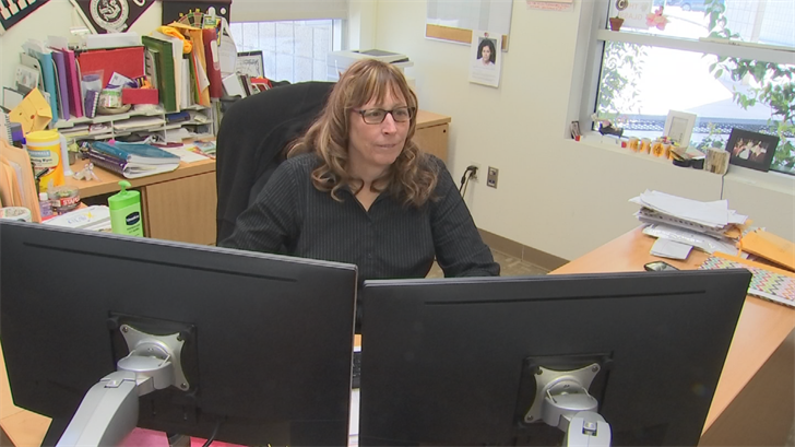 Principal Cindy Campton said her school didn't get the grants to help pay for the officer. (Source: 3TV/CBS 5)