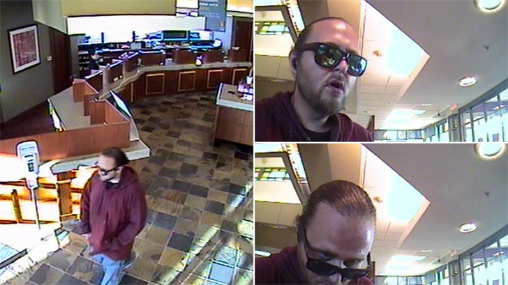 Police said this man robbed a bank in Scottsdale on Feb. 15. (Source: Scottsdale Police Department)