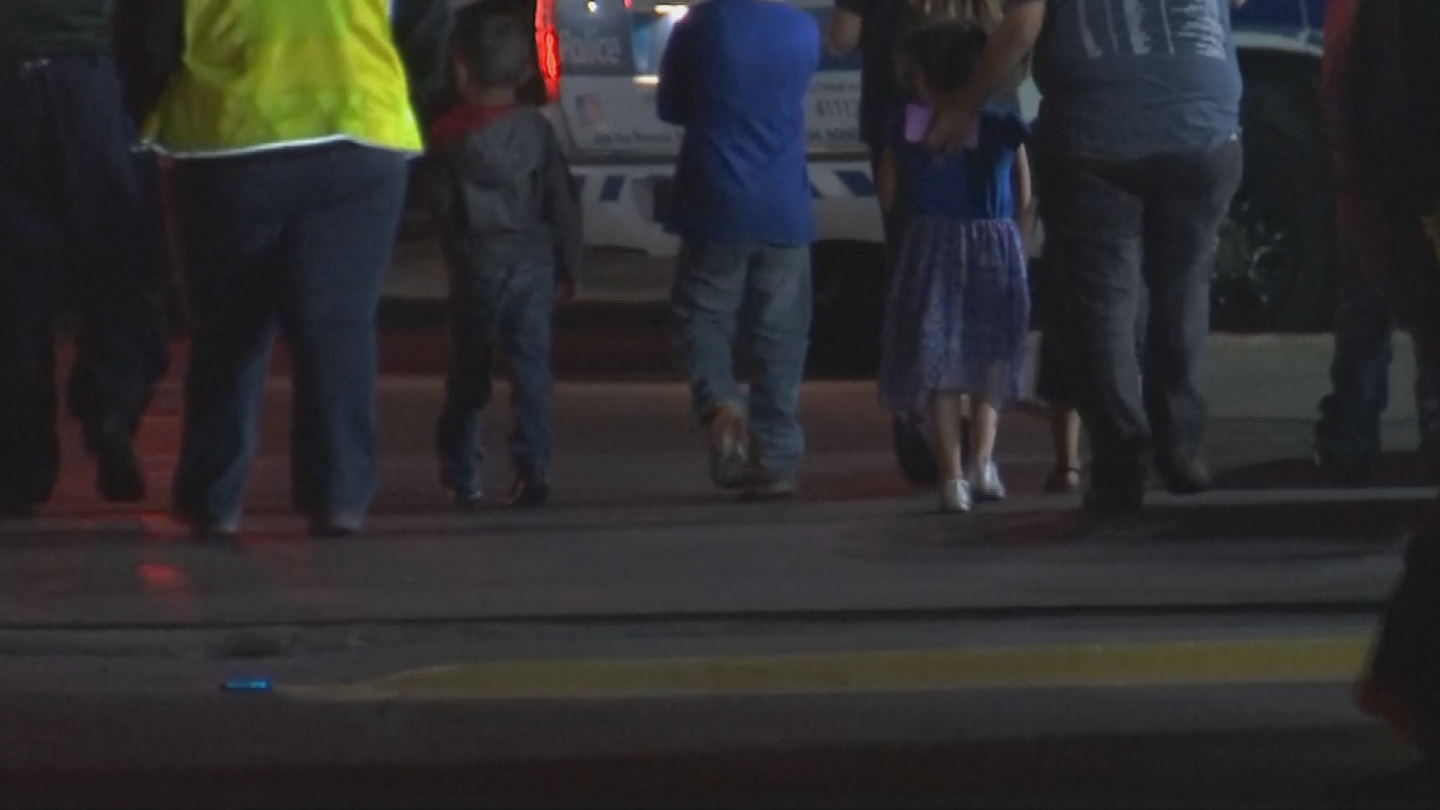 Around 2:30 a.m., four to five adults werehaving a family party with at least five children asleep in the back bedroom when things turned violent. (Source: 3TV/CBS 5)