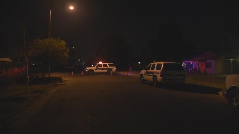 A man was shot in the leg in Phoenix. (Source: 3TV/CBS 5)