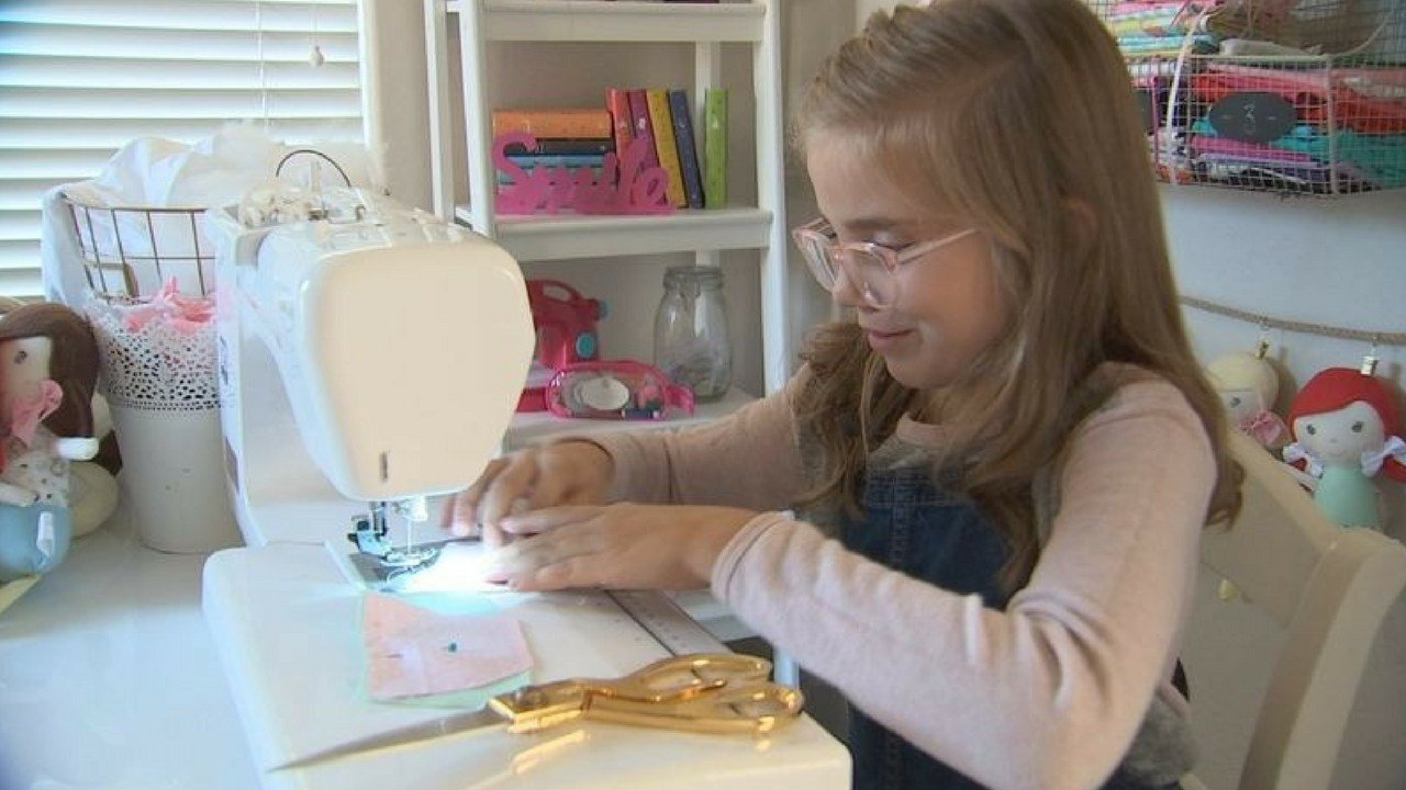 "One 9-year-old's Chandler doll company is taking off thanks to the ""Imagine If, With Jif"" competition whose goal was to ""celebrate great kids across the country."" (Source: 3TV/CBS 5)"