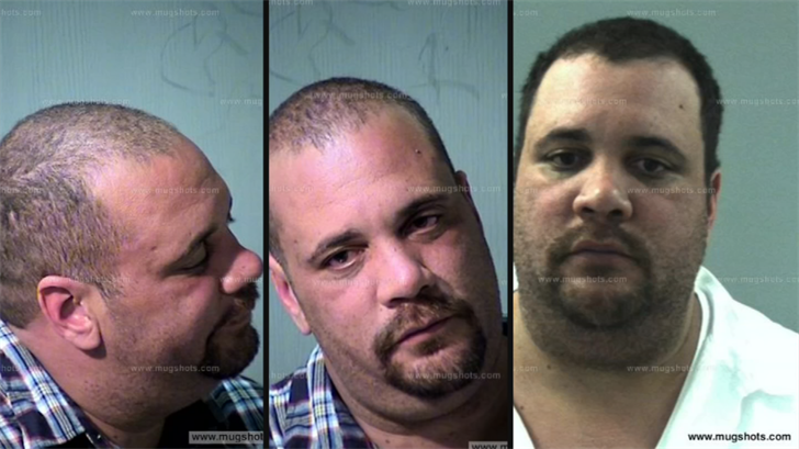 A website has different mugshots of Cole. (Source: 3TV)