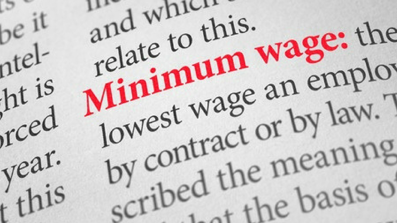 A bill in the state Legislature would freeze the minimum wage at $10.50 an hour. (Source: zerbor / 123RF Stock Photo)
