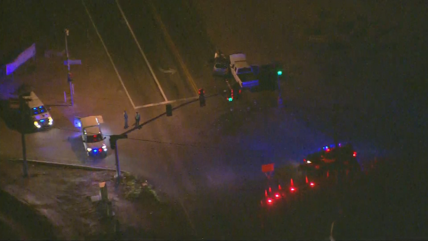 A total of five people were hurt. (Source: 3TV/CBS 5)