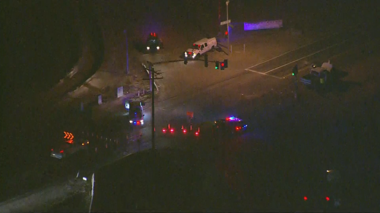 It happened at Rittenhouse Road and Combs Road around 7 p.m. (Source: 3TV/CBS 5)