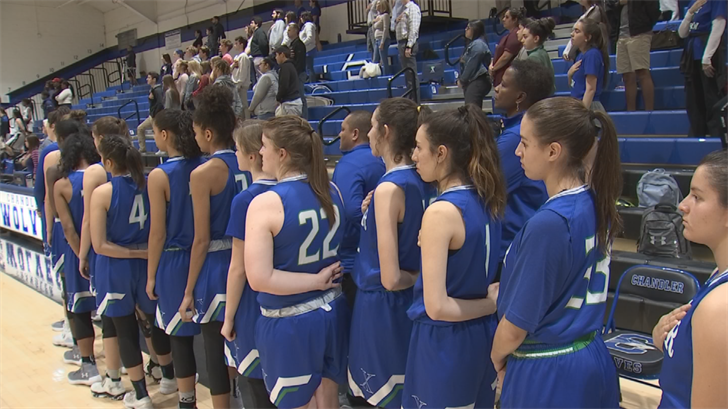 A win Wednesday night over Valley Vista would give Xavier its first basketball state championship in school history. (Source: 3TV/CBS 5)