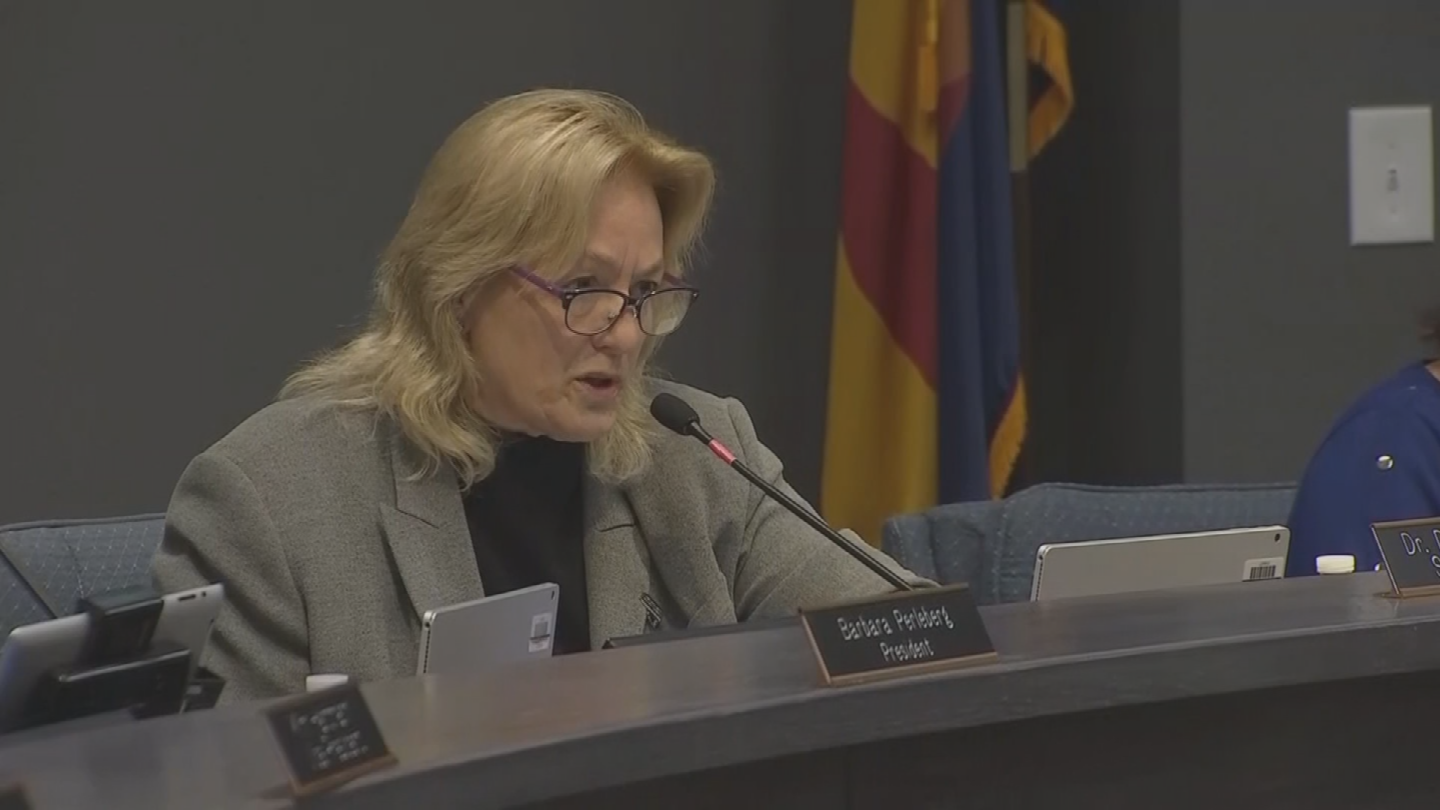 The board placed Superintendent Denise Birdwell on paid administrative leave last week. (Source: 3TV/CBS 5)