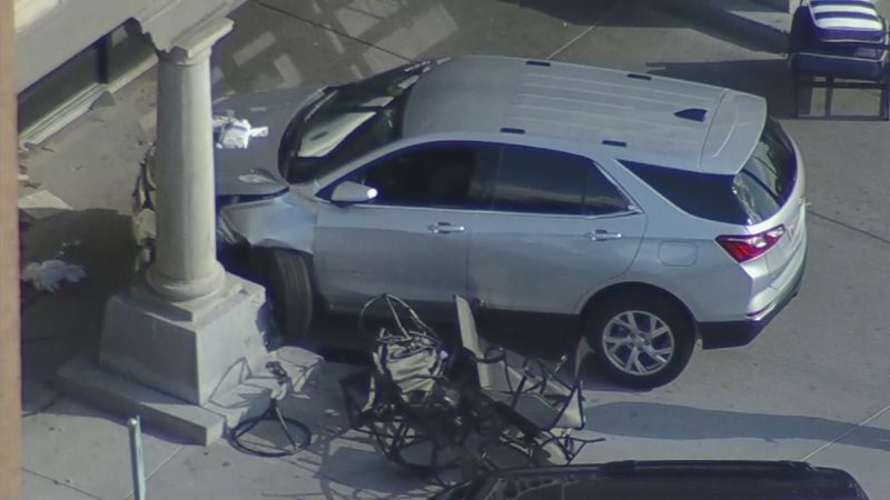 The driver stayed on the scene. (Source: 3TV/CBS 5)