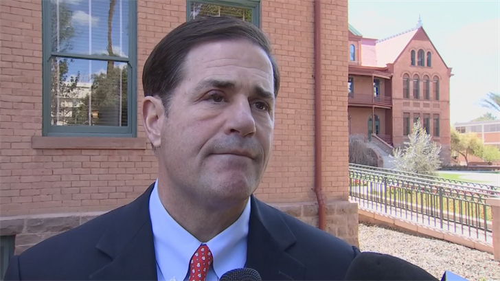 Ducey said he's all for banning bump stock devices. (Source: 3TV/CBS 5)