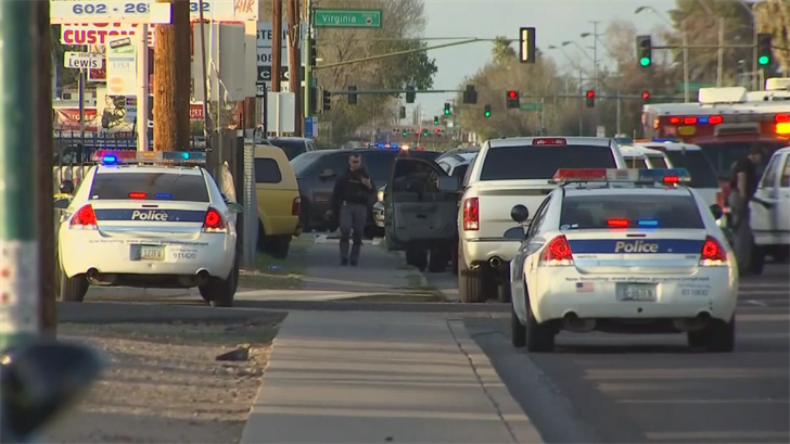 Investigators said the suspect in an officer-involved shooting killed himself. (Source: 3TV/CBS 5)