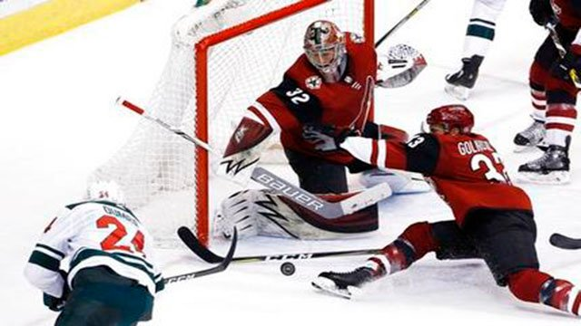 The last-place Arizona Coyotes are 7-2-1 in their last nine games, an encouraging run book-ended by comeback victories over the Minnesota Wild. (Source: AP Photo)
