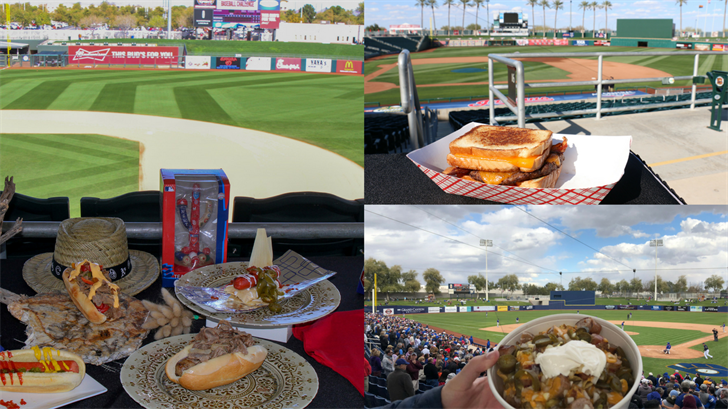 Move over peanuts and Cracker Jacks! The Valley's 10 Cactus League ballparks are bringing the heat when it comes to the new spring training menus. (Source: 3TV/CBS 5)